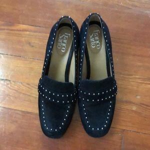 Franco Sarto suede shoes